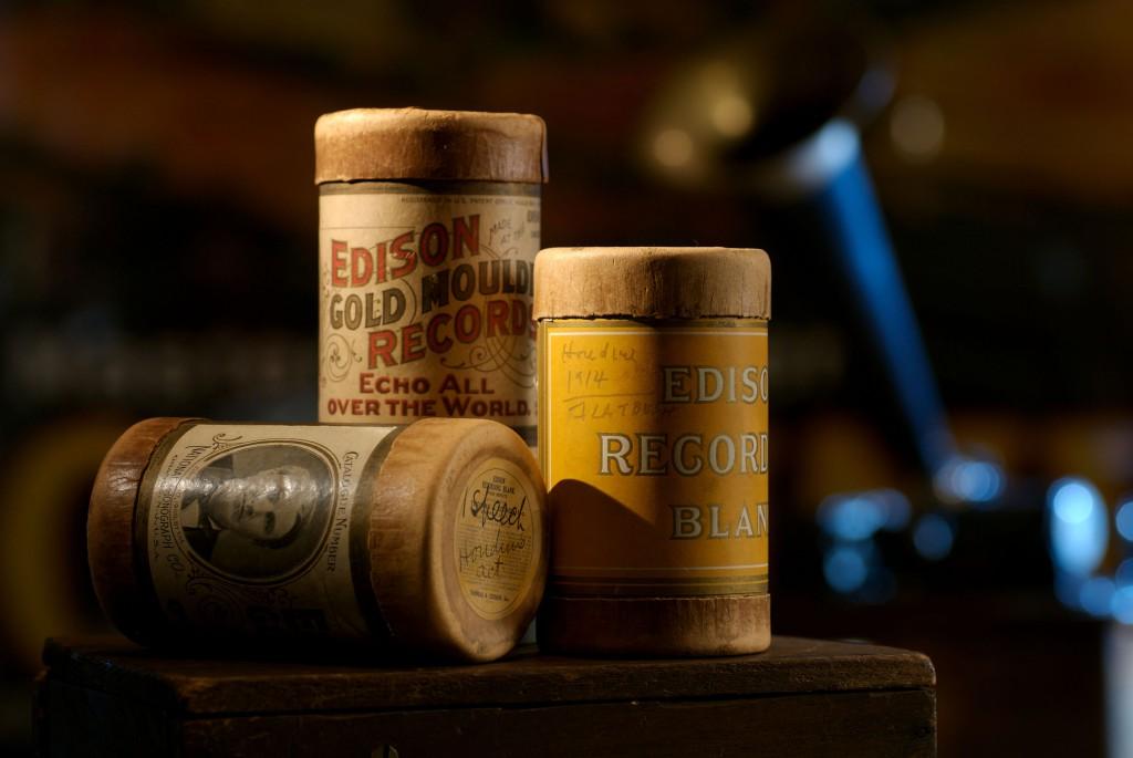 Houdini-voice-Edison-Cylinders
